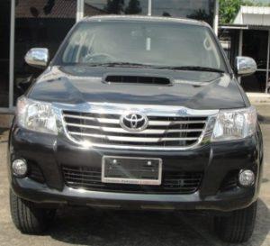 2012 Vigo Toyota Hilux front is redesigned. Available at Thailand, Dubai, Singapore and England United Kingdom top 4x4 delaer Jim Autos Thailand, Dubai, Singapore and England United Kingdom