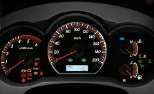 2102 Toyota Hilux Vigo comes with New Stye of Optitron Meter